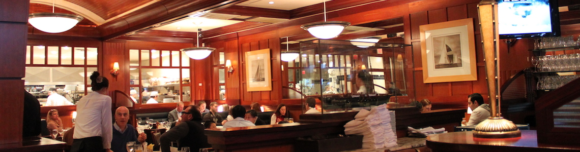 Places to take your high end clients back bay century for Atlantic fish company boston ma