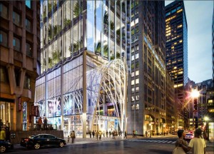 Winthrop Square Rendering Front