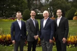 CENTURY 21 Cityside (left to right) Jordan Bray, David Cahill, Doug Bray, and Collin Bray
